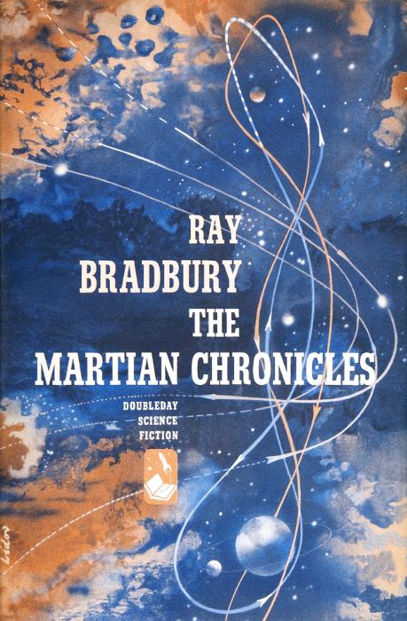 """Первое издание книги Рэя Брэдбери """"The Martian Chronicles"""""""