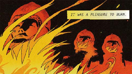 Комикс по «451 градус по Фаренгейту»